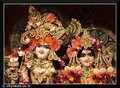 Radhey Krishna closeup view