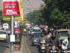 Traffic at Hawa Mahal